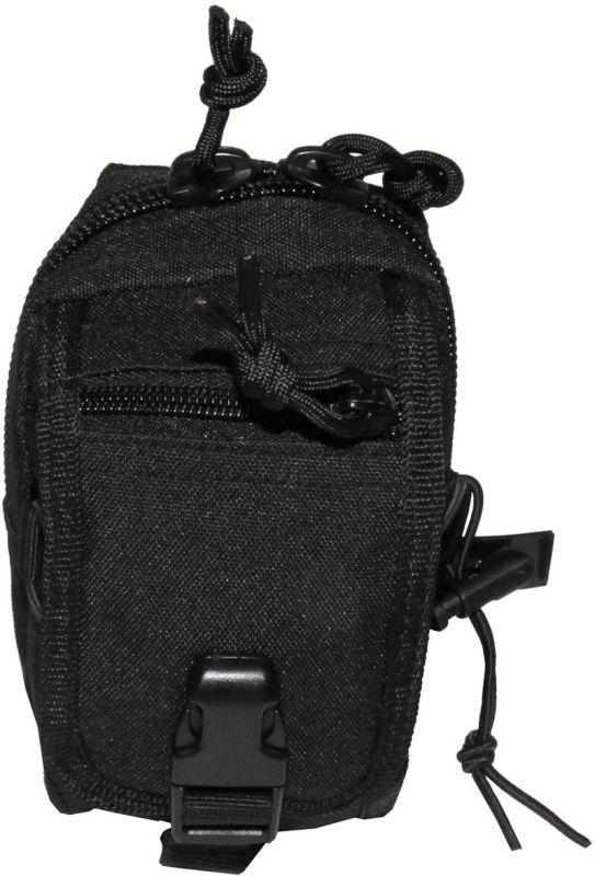 MFH MOLLE Utility pouch, zips, 10x14x9 - čierny, (30610A)