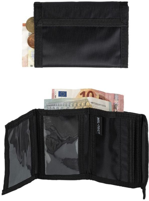 MILTEC Peňaženka - čierna (15801002)