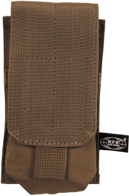 MFH MOLLE Single mag pouch, 16x8.5x5 - coyote, (30614R)