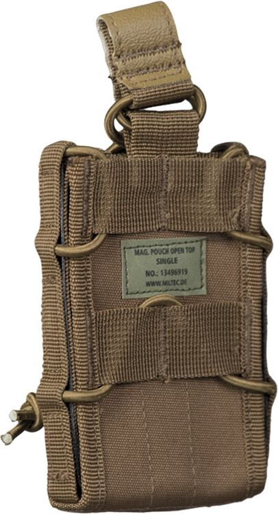 MILTEC MOLLE Single mag pouch - coyote, (13496919)