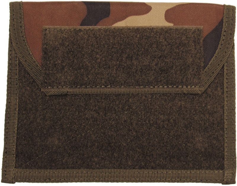 MFH MOLLE Admin pouch, 18x14 - woodland, (30618T)