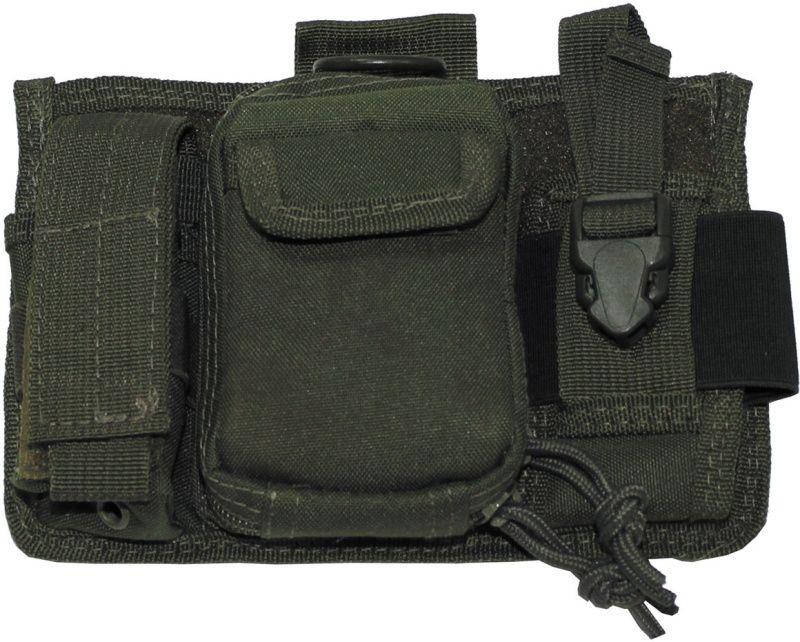MFH MOLLE Admin pouch PRO, 20x14 - olivový, (30608B)