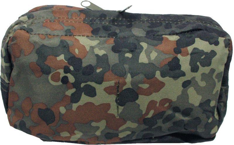 MFH MOLLE Utility pouch, big 24x9x13, horizontálne - flecktarn, (30611V)