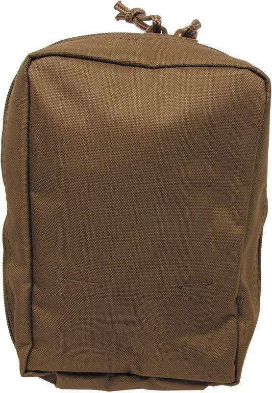MFH MOLLE Utility pouch, small 19x7x13, vertikálne - coyote, (30613R)