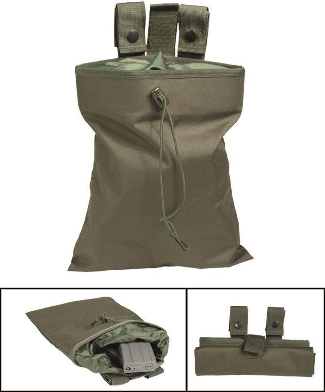 MILTEC MOLLE Dump pouch - olivový, (16156001)