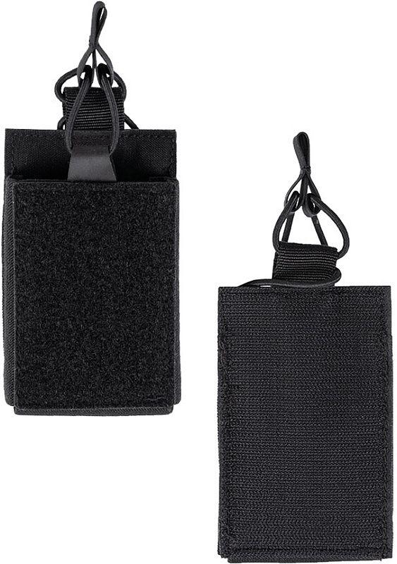MILTEC Single mag pouch hook&loop, čierny (13496102)