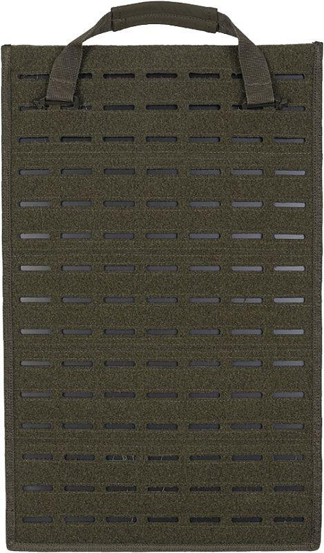 MILTEC Laser cut insert large 48x30,5, olivový (14090201)