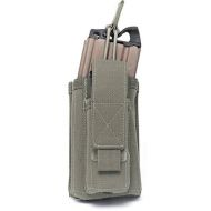 WARRIOR Single MOLLE Open Pouch 5.56mm - ranger green (W-EO-SMOP-RG)