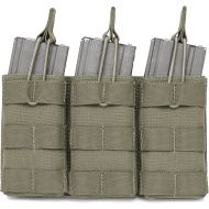 WARRIOR Triple MOLLE Open M4 5.56mm - ranger green (W-EO-TMOP-RG)