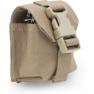 WARRIOR Single Frag Grenade Pouch - Generation 2 - coyote (W-EO-FGP-G2-CT)