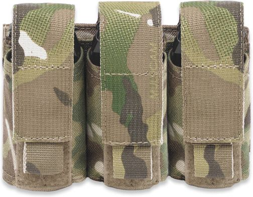 Warrior Triple 40mm Grenade MultiCam (W-EO-T40GP-MC)