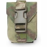 WARRIOR Direct Action Double DA 9mm Pistol Pouch - multicam (W-EO-DPDA-9-MC)