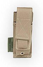 Warrior Elite Ops Single Pistol Pouch Coyote (W-EO-SPP-CT)