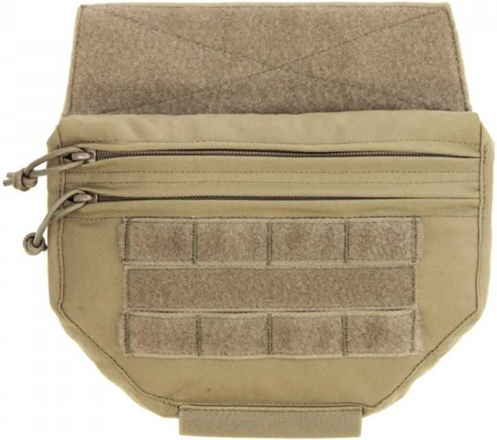 Warrior Drop Down Velcro Utility Pouch Coyote Tan (W-EO-DDVUP-CT)