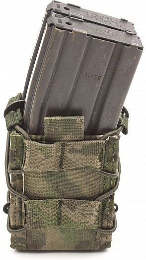 Warrior Double Quick Mag (Front Stacked) A-TACS FG (W-EO-DQM-ATFG)
