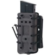 FMA SMC Single Stack Magazine Pouch with flocking (QD belt) - foliage green