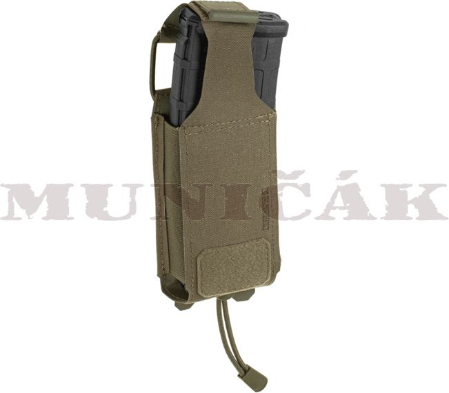 CLAW GEAR MOLLE 5.56mm Backward Flap Mag Pouch - RAL7013, (22076)