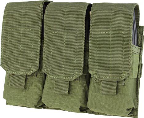 CONDOR MOLLE Triple M4 pouch - olivový, (MA58-001)
