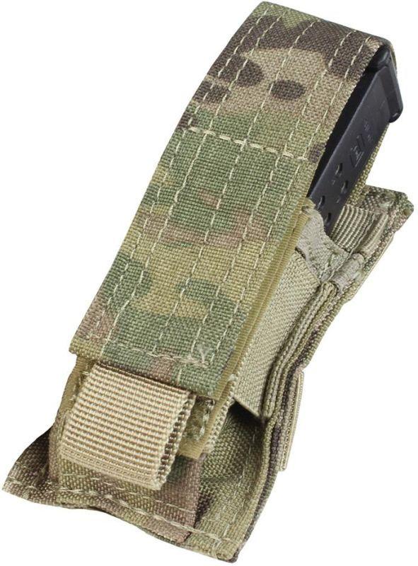 CONDOR MOLLE Single pistol mag pouch - multicam, (MA32-008)