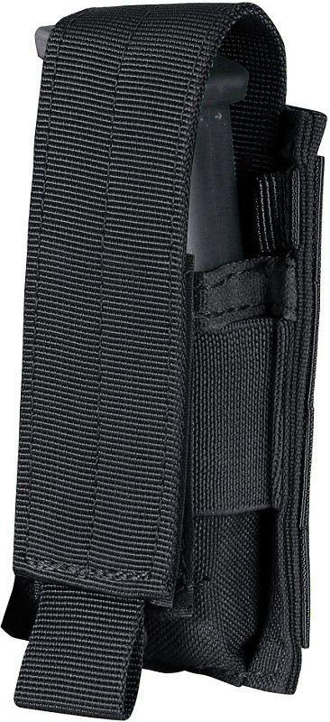 CONDOR MOLLE Single pistol mag pouch - čierny (MA32-002)