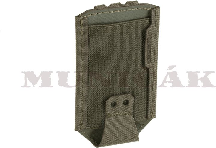 CLAW GEAR MOLLE 9mm Backward Flap Mag Pouch - RAL7013, (21929)