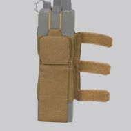 DIRECT ACTION MOLLE Pouch na vysielačku Spitfire Comms Wing cordura - coyote (PL-SPCW-CD5-CBR)