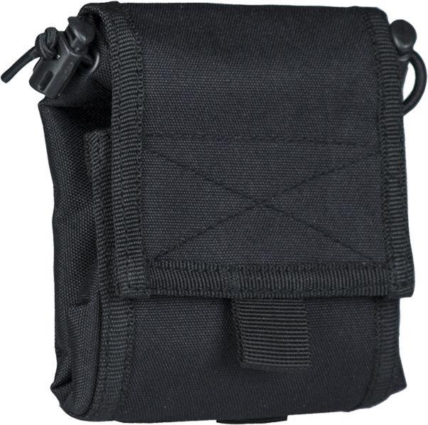 MILTEC MOLLE Dump pouch skladací - čierny, (16156402)