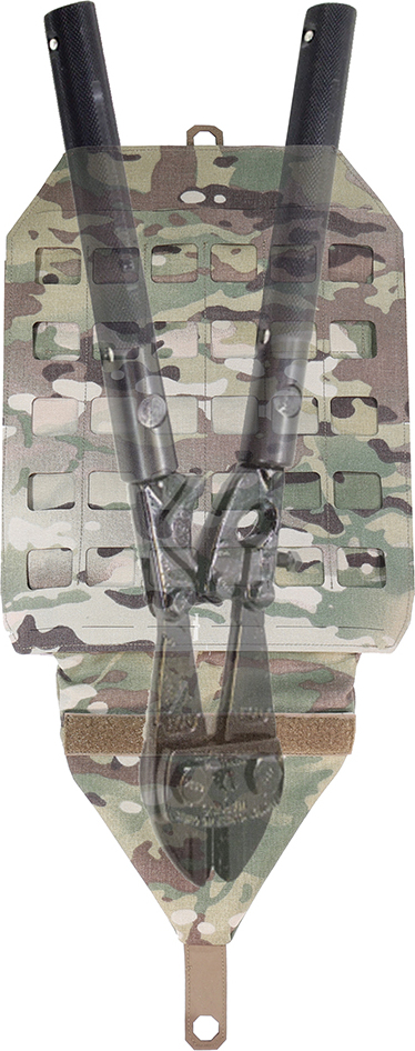 "MFH MOLLE Map pouch, 14x17 ""MOLLE"" - olivový, (30604B)"