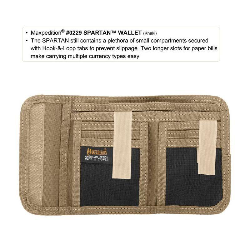 MAXPEDITION Peňaženka Spartan Wallet - zelená (MX229G)