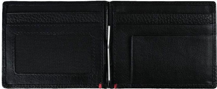 ZIPPO Kožená peňaženka 11x8,2x1cm - čierna (44147)