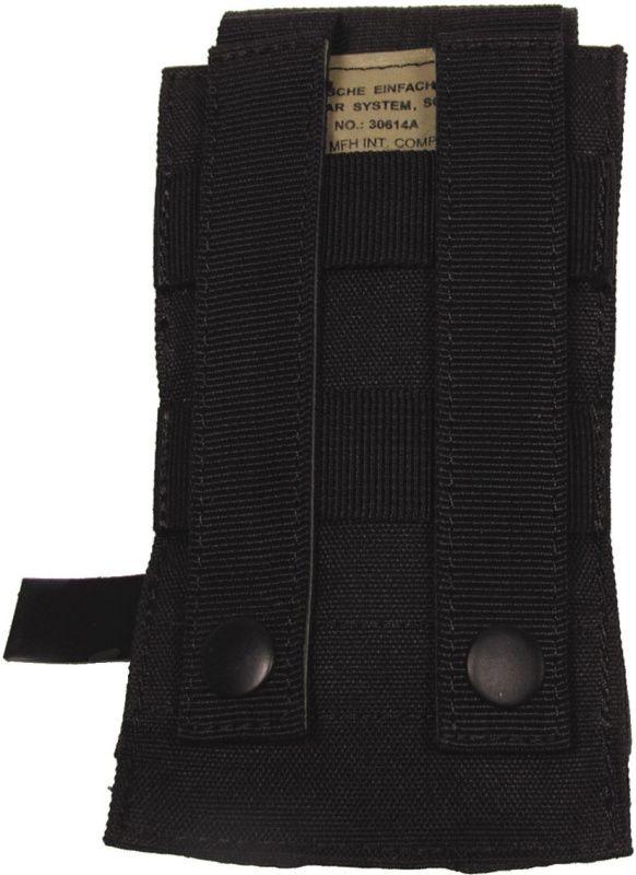 MFH MOLLE Single mag pouch, 16x8.5x5 - čierny, (30614A)