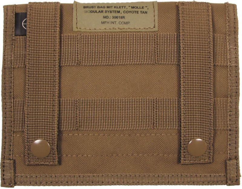 MFH MOLLE Admin pouch, 18x14 - coyote, (30618R)