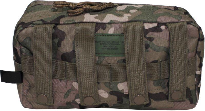 MFH MOLLE Utility pouch, big 24x9x13, horizontálne - multicam, (30611X)
