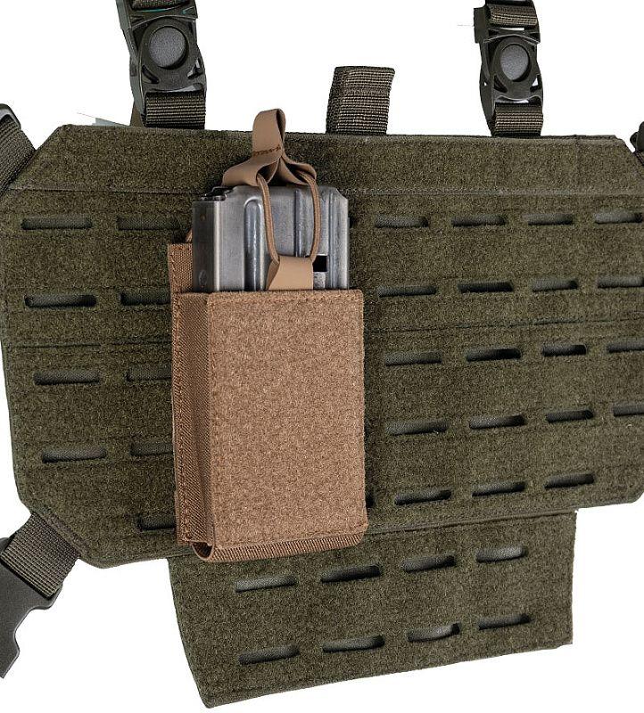 MILTEC Single mag pouch hook&loop, coyote (13496119)