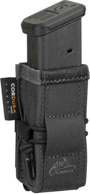 HELIKON MOLLE Competition Single pistol mag pouch Rapid - čierny (MO-P03-CD-01)