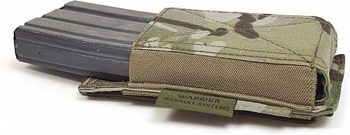 Warrior Single Elastic Mag Pouch Colours-MultiCam (W-EO-SEMP-MC)