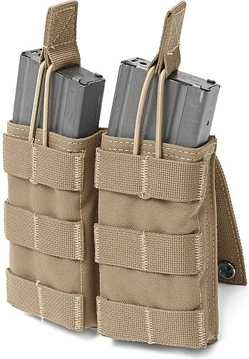 Warrior Double MOLLE Open M4 5.56mm Coyote (W-EO-DMOP-CT)