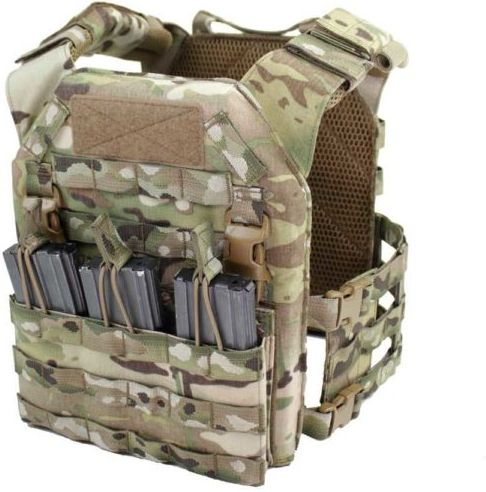 WARRIOR Removable Triple MOLLE Open Pouch - multicam (W-EO-DFP-TMOP-MC)