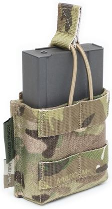 Warrior Single 7.62 x 51mm Open Short MultiCam (W-EO-SMOP-7.62-S-MC)