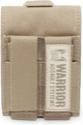 Warrior Single Frag Grenade Pouch - Generation 2 Coyote Tan (W-EO-FGP-G2-CT)