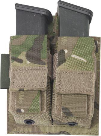 Warrior Direct Action Double DA 9mm Pistol Pouch MultiCam (W-EO-DPDA-9-MC)