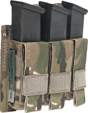 Warrior Triple DA 9mm Pistol MultiCam (W-EO-TPDA-9-MC)