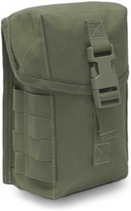 Warrior Medium General Utility Pouch - Olive Drab (W-EO-MGUP-OD)