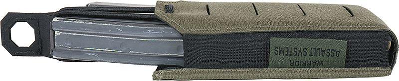 WARRIOR Laser Cut Single Bungee 5.56 Pouch - ranger green (W-LC-SB-556P-RG)