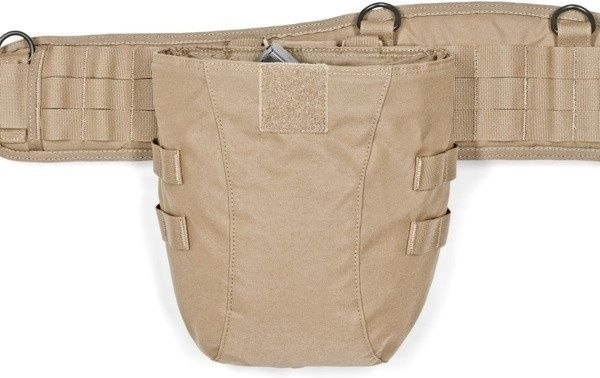 Warrior Large Roll Up Dump Pouch - Generation 2 Coyote (W-EO-LRUDP-G2-CT)