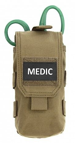 Warrior Individual First Aid Pouch Coyote (W-EO-IFAK-CT)