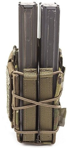 Warrior Double Quick Mag (Front Stacked) Multicam (W-EO-DQM-MC)