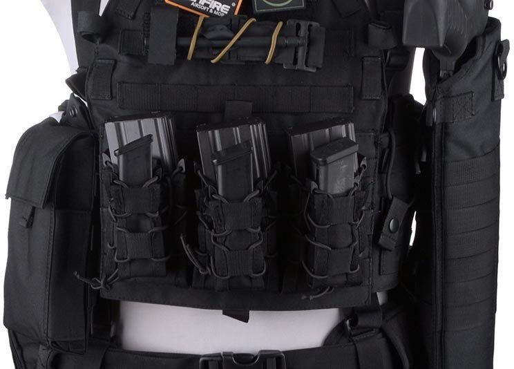 GFC TC Single Open Pistol Mag Pouch - tan