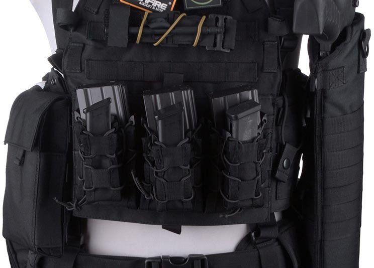 GFC TC Single Open Pistol Mag Pouch - multicam
