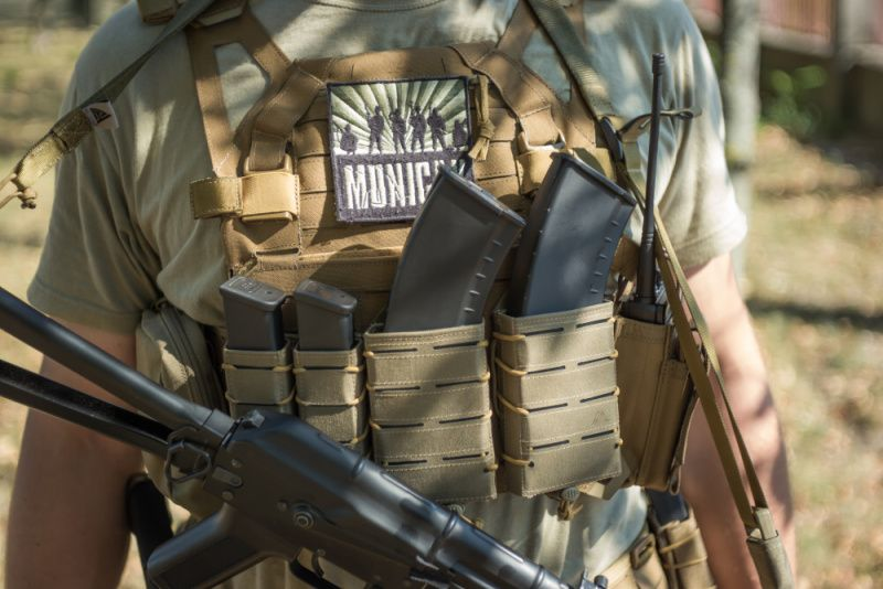 DIRECT ACTION MOLLE Pouch na zásobník AR/AK Speed Reload Pouch Rifle - Cordura - adaptive green, (PO-RFSR-CD5-AGR)